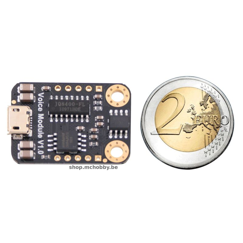 MP3 Voice Module avec 8MB Flash - Gravity, UART