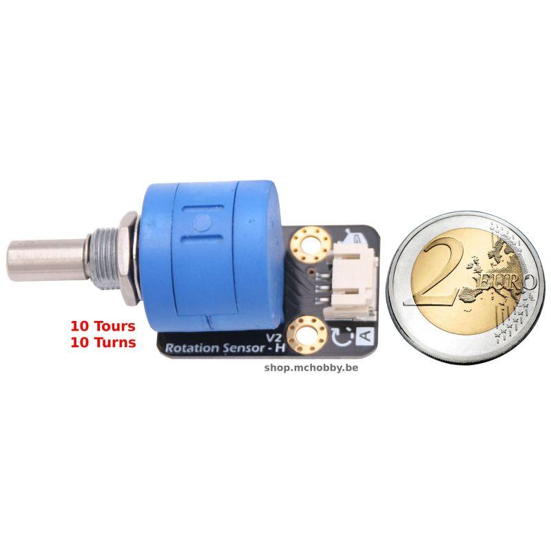 Gravity: Analog Rotation Potentiometer, 10 turns, Sensor V1 For Arduino