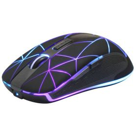 Optical mouse with RGB backlight - USB 2.4 GHz Receiver - Riitek RM200