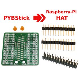 PYBStick to HAT (Raspberry-Pi) for Interface