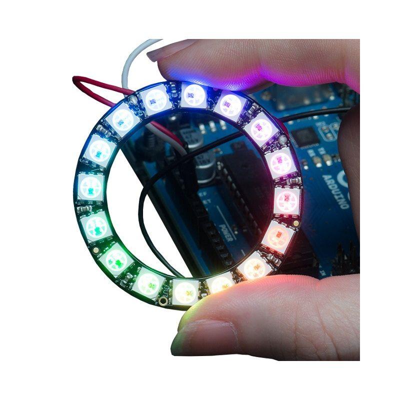 [T] - Anneau NeoPixel - 16 LEDs RGB