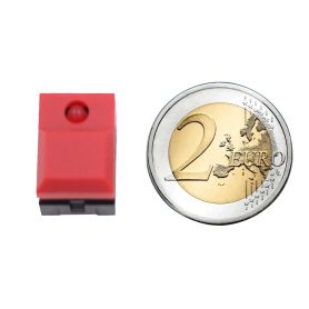 Digitast push button RED - LED RED