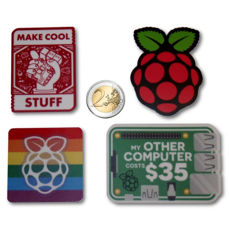 4x Raspberry-Pi sticker