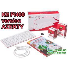 Raspberry Pi 400 KIT - Azerty / FR Booklet - 4 Go