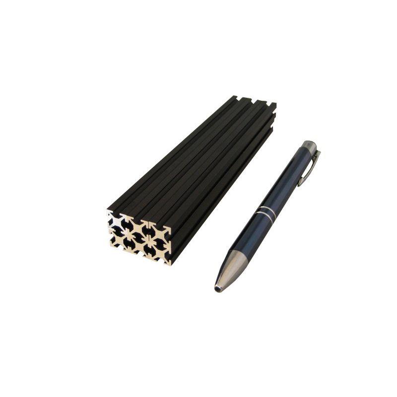 6 x Profilé Noir Anodisé - 150mm