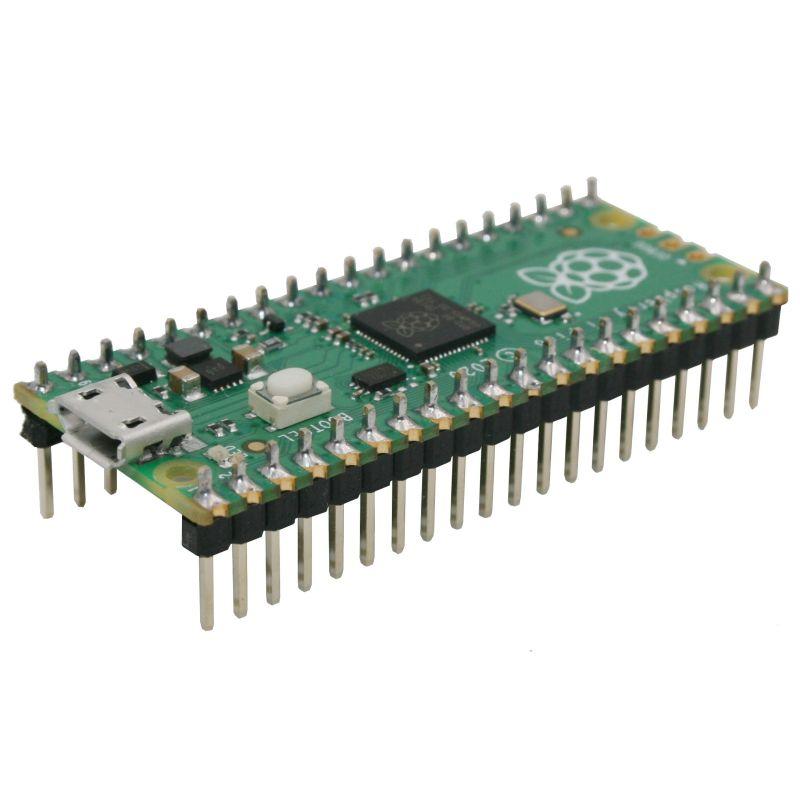 Pico HEADER (RP2040)  - Microcontrôleur 2 coeurs Raspberry-Pi