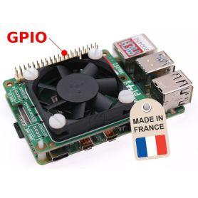 Silent fan cooler for Raspberry-Pi