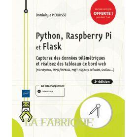 Python, Raspberry Pi et Flask - Capturez des données témétriques et réalisez des tableaux de board Web