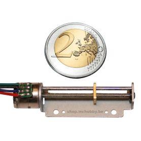 Micro Stepper Motor, linear 30mm, 3.3-5V, 20 step
