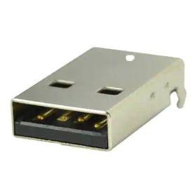 USB 2.0 TYPEA male connector - 4POS - PLUG - PCB THT