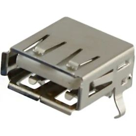 USB 2.0 Female connector TYPEA 4POS - Receptable – PCB THT