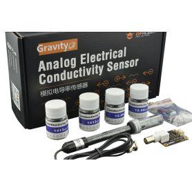 Capteur de conductivité électrique (K:1) gravity, analogique