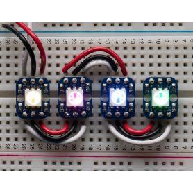 [T] - 4 x NeoPixel RGB breakout