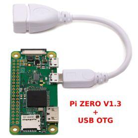 Raspberry-Pi ZERO V1.3 + USB kit (No WiFi)