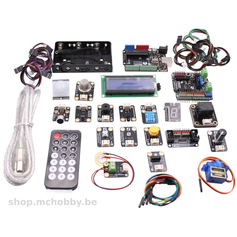 Gravity: Kit intermédiaire pour Arduino compatible