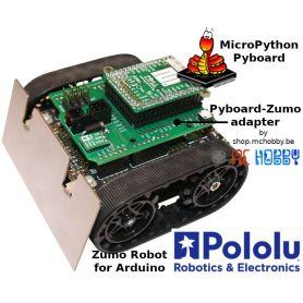 Pyboard to ZUMO Robot adapter