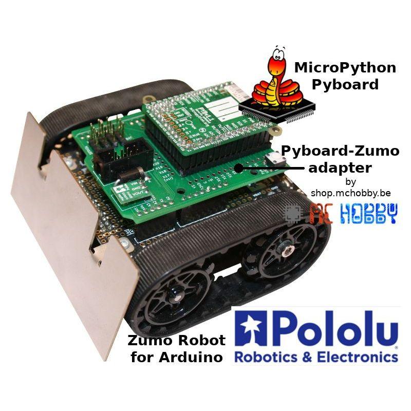 Adaptateur Pyboard pour ZUMO Robot