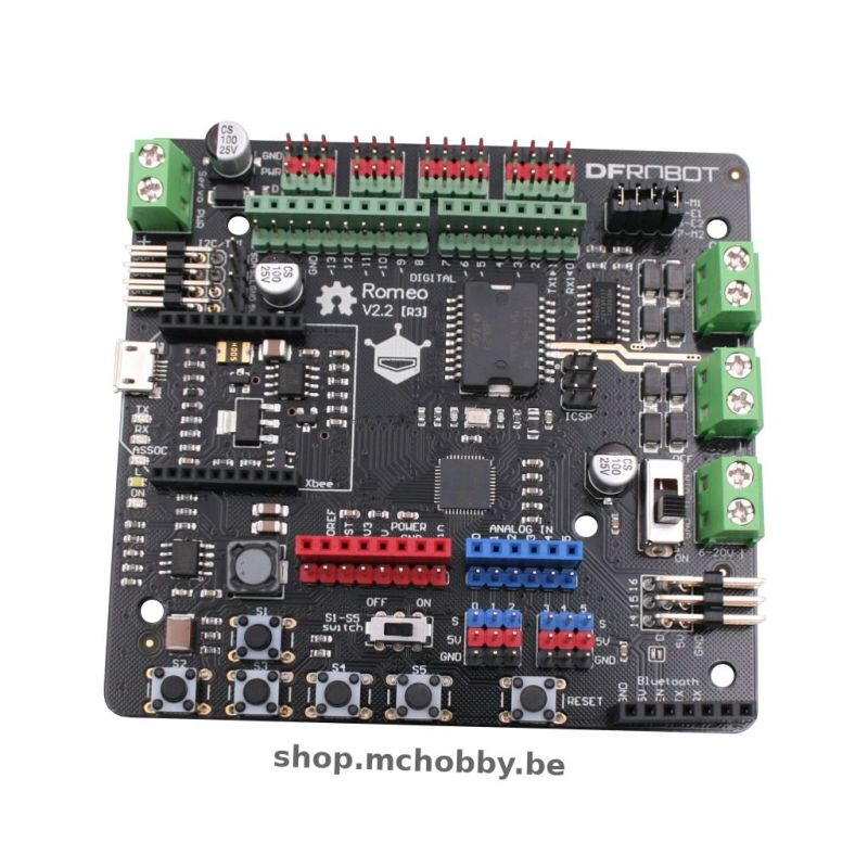 Romeo v2 - Arduino compatible + robotic controler