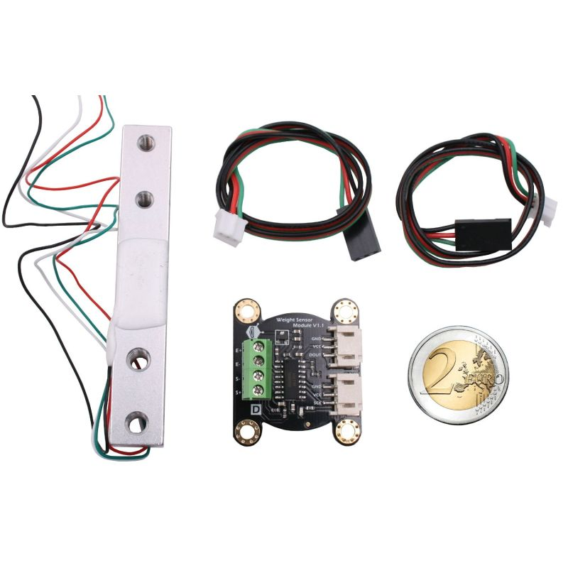 Senseur de pesage 0 - 1Kg + amplificateur HX711