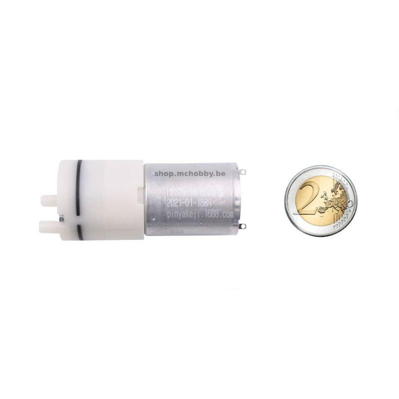 Mini vacuum pump - 2.2L/min, 5V, -58Kpa