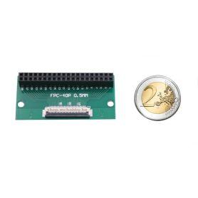 IDC 2x20 Female to 40 pins FPC ribbon (0.5mm spacing)