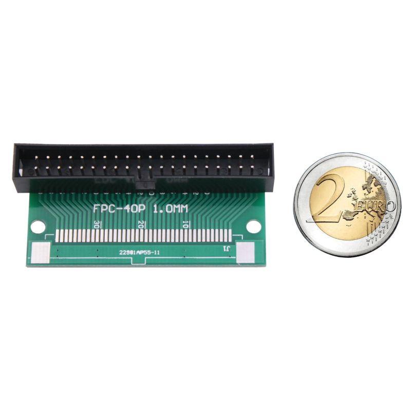 Connecteur IDC 2x20 Male vers ruban FPC 40 à 0.5mm