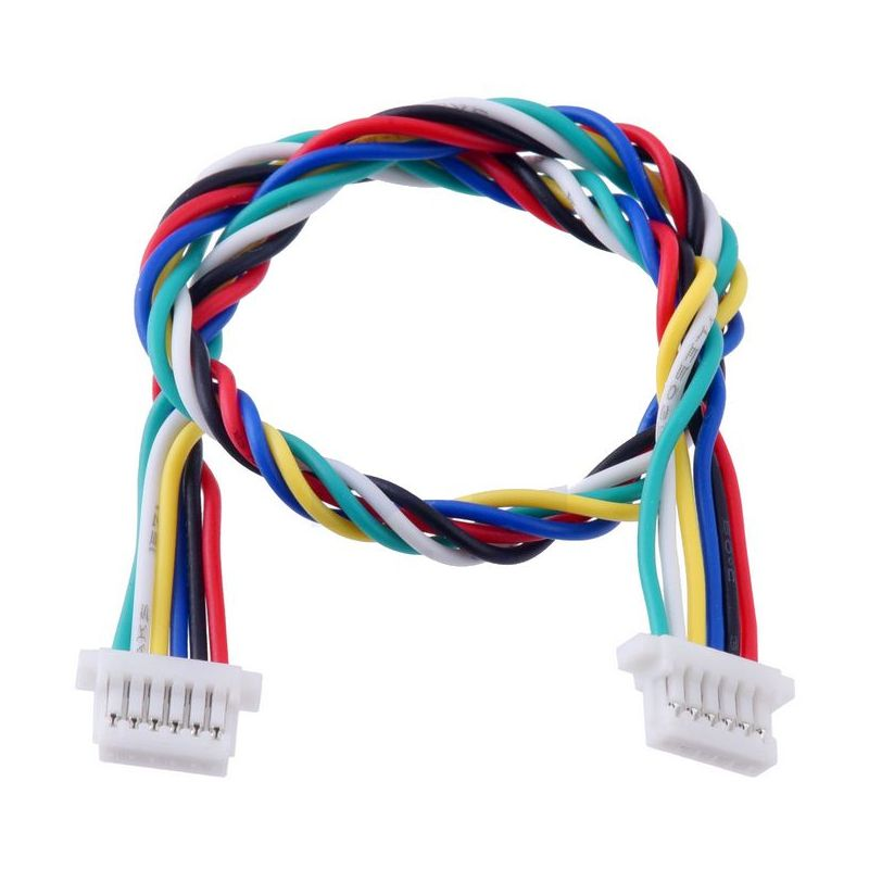 6 pins JST-SH cable 160mm - Female / Female