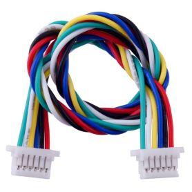 cable JST-SH 6 poles 250mm - Femelle / Femelle