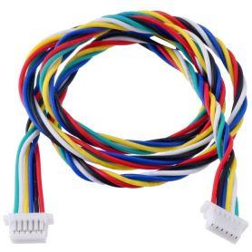 cable JST-SH 6 poles 400mm - Femelle / Femelle
