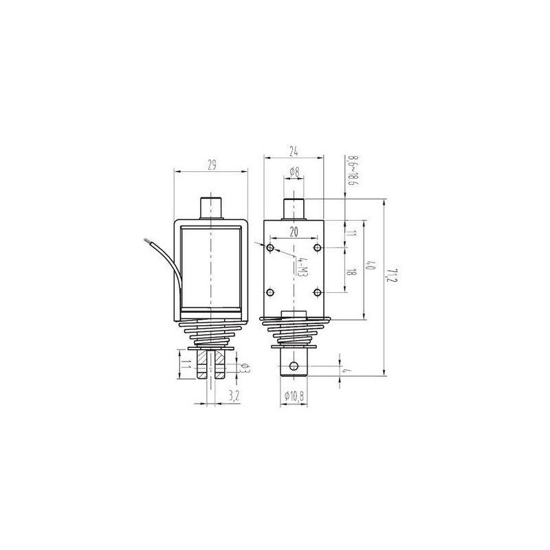 grand sol u00e9noide push-pull - microcontroleur hobby