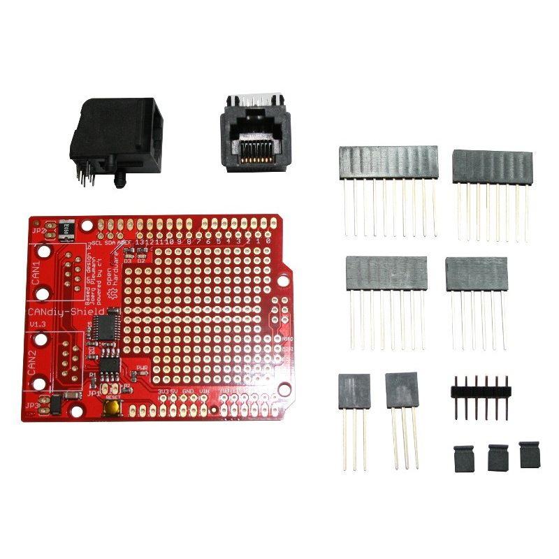 CanDIY - Shield Can Bus pour Arduino - v2 0