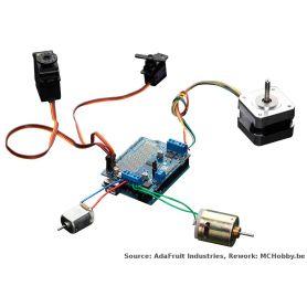 [T] - Shield de contrôle moteur/Motor shield v2.3