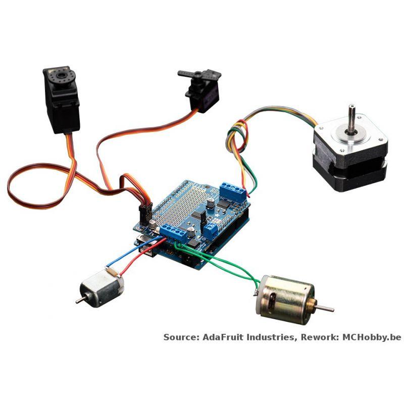[T] - Shield de contrôle moteur/Motor shield v2 3