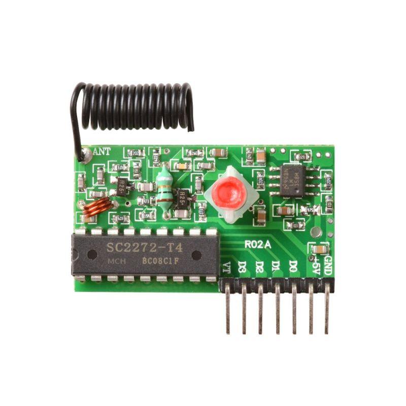 Récepteur RF 315Mhz, M4, Momentané