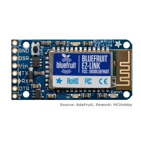BlueFruit - EZ-LINK - Bluetooth série + programmeur Arduino