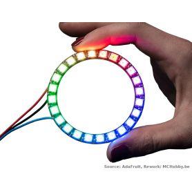 Anneau NeoPixel - 24 LEDs RGB