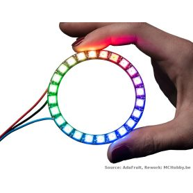 NeoPixel Ring - 24 LEDs RGB