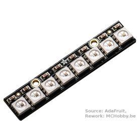 [T] - Stick NeoPixel - 8 LEDs RGB