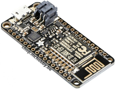 Plateforme Feather ESP8266 (ESP-12) d'Adafruit