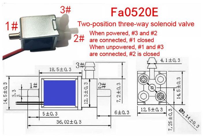 Air valve schematic