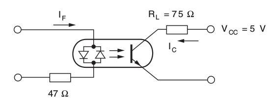 Montage de test du SFH620A