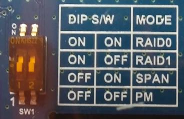 Configuration du mode RAID sur le CloudShell-2