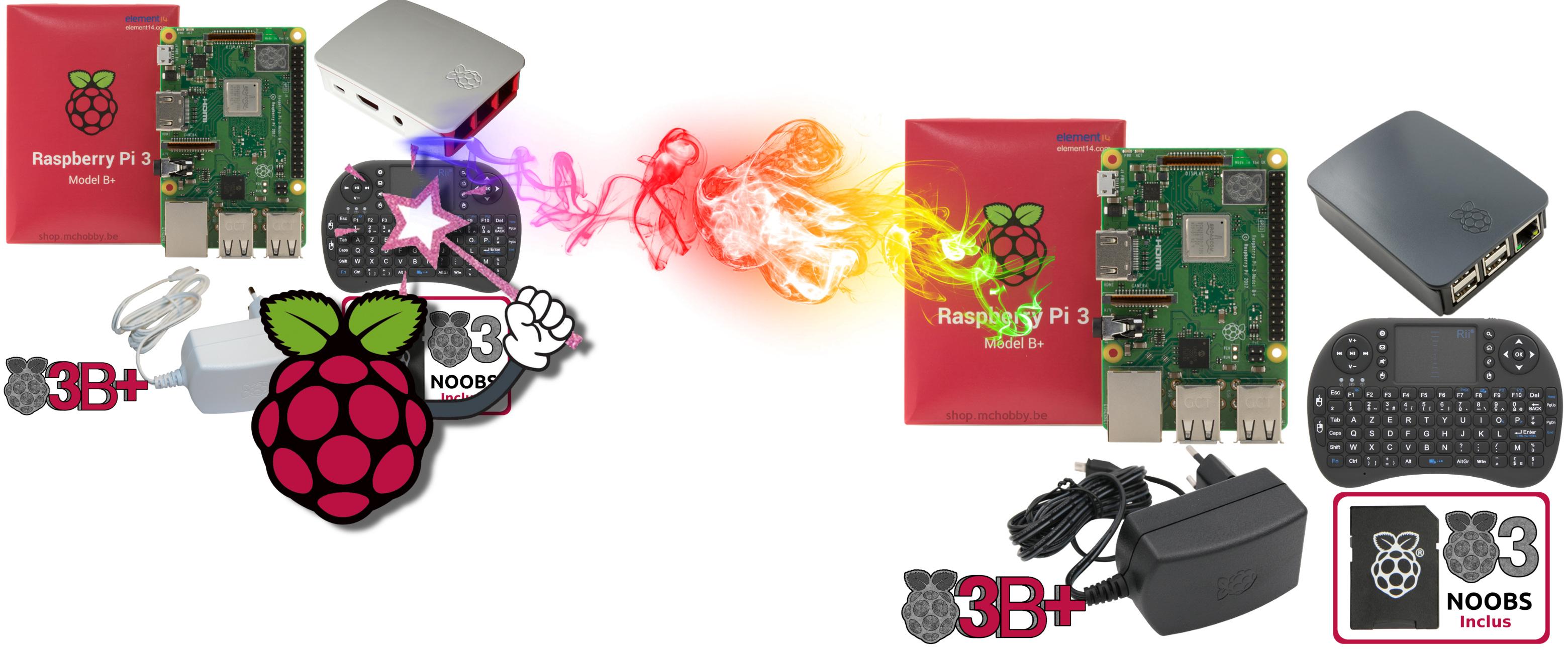 Raspberry Media Pack