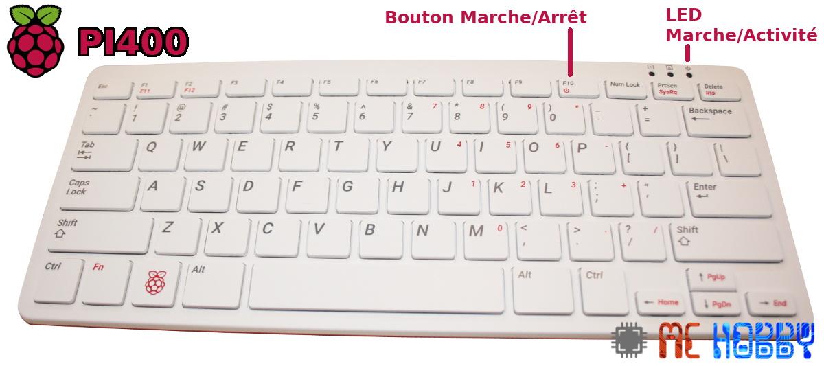 Pi 400 Marche/Arret