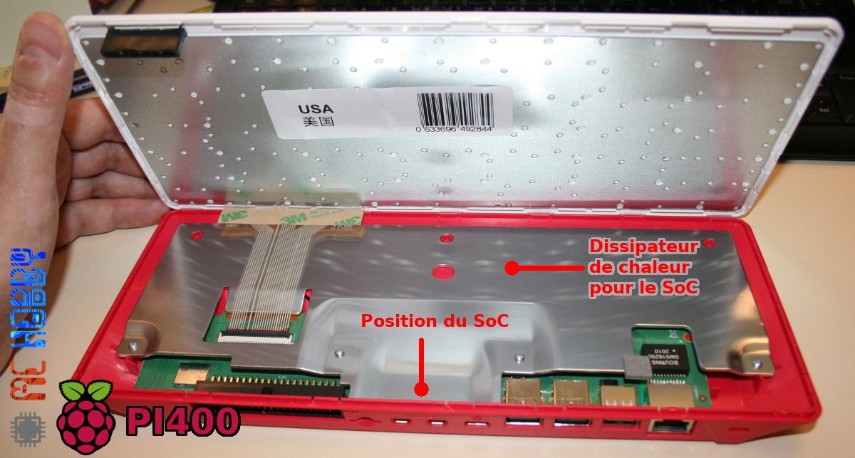 Dissipateur de chaleur du PI400