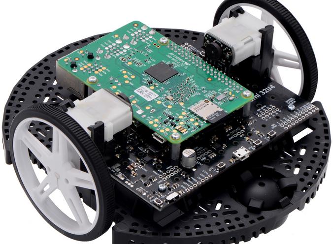 Utiliser un Raspberry-Pi sur le robot Romi