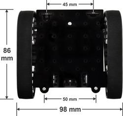 Dimenssion du chassis Zumo