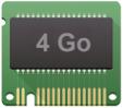 Raspberry-Pi 4 avec 4 Go de RAM pour un usage intensif en 4K