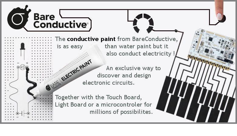 Electric Paint, create innovative electronic circuits