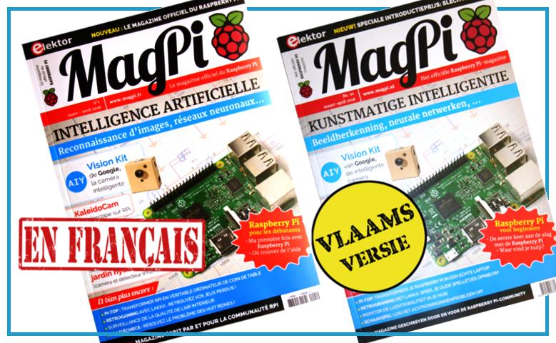 Magazine en Francais et en anglais